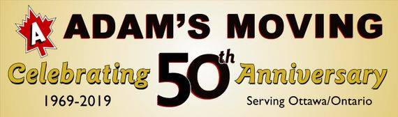 Adams moving 50th anniversary